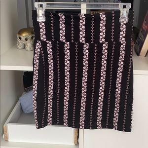 Charlotte Russe Mini Pencil Skirt
